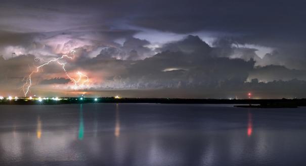 Waurika Lake Thunderstorm
