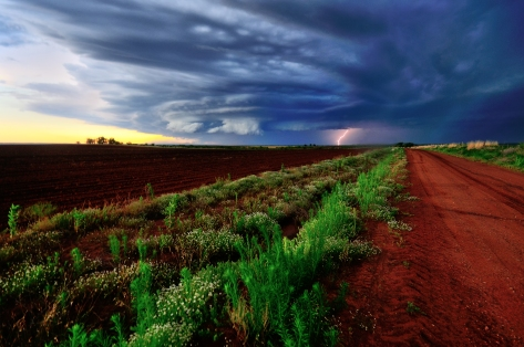 Storm on the Plains